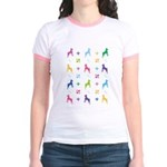 Minature Pinscher Designer Jr. Ringer T-Shirt