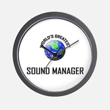 World's Greatest SOUND MANAGER Wall Clock