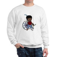 Keith Broken Left Leg Sweatshirt