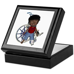 Keith Broken Left Leg Keepsake Box