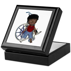 Keith Broken Right Leg Keepsake Box
