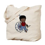 Keith Broken Right Leg Tote Bag