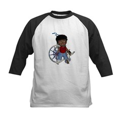 Keith Broken Right Leg Kids Baseball Jersey