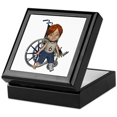 Kevin Broken Left Leg Keepsake Box