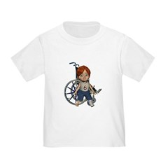 Kevin Broken Left Leg Toddler T-Shirt