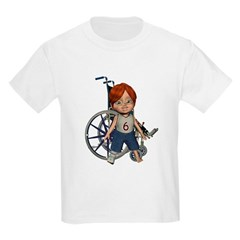 Kevin Broken Right Leg T-Shirt