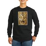 Celtic Tiger Long Sleeve Dark T-Shirt