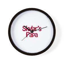 Skylar's Papa  Wall Clock
