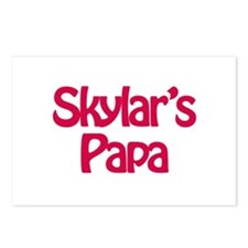 Skylar's Papa  Postcards (Package of 8)