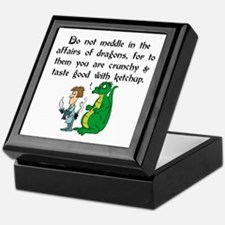 The Affairs of Dragons Keepsake Box