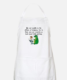 The Affairs of Dragons BBQ Apron