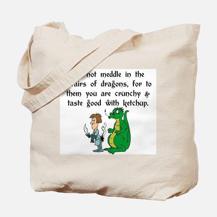 The Affairs of Dragons Tote Bag