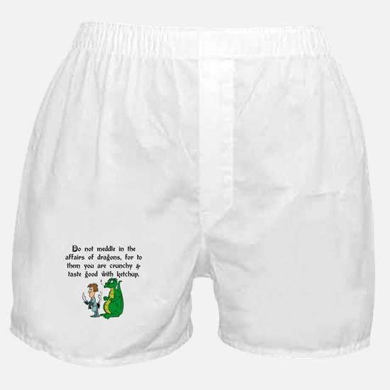 The Affairs of Dragons Boxer Shorts