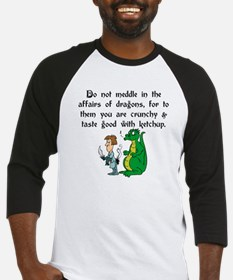 The Affairs of Dragons Baseball Jersey