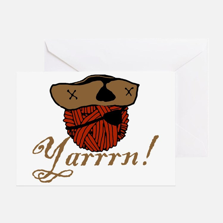 Yarrrn Greeting Card