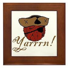 Yarrrn Framed Tile