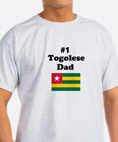 #1 Togolese Dad T-Shirt