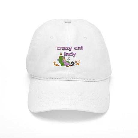 Crazy Old Cat Lady Cap