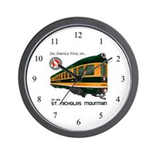 St. Nicholas Mountain Wall Clock