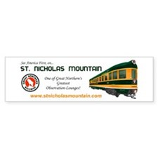 St. Nicholas Mountain Bumper Bumper Sticker