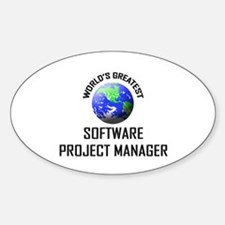 World's Greatest SOFTWARE PROJECT MANAGER Decal