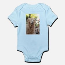 Nala the golden looking alert Body Suit