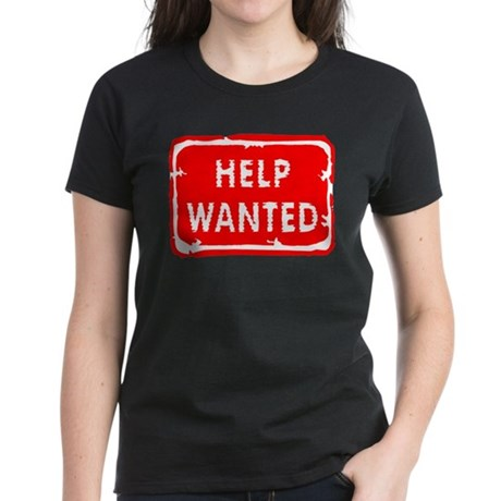 HELP WANTED Women's Dark T-Shirt