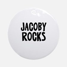 Jacoby Rocks Ornament (Round)