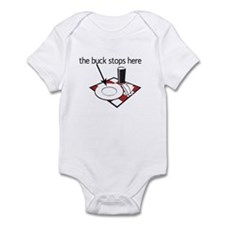 The Buck Stops Here! Infant Bodysuit