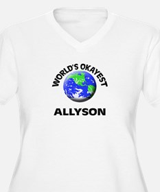 World's Okayest Allyson Plus Size T-Shirt