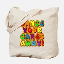 Furry Dance Tote Bag