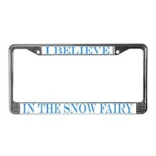 Snow Fairies License Plate Frame