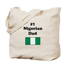 #1 Nigerian Dad Tote Bag