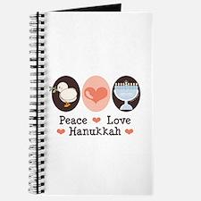 Peace Love Hanukkah Chanukah Journal