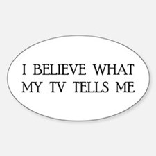 TV 2.0 Oval Decal