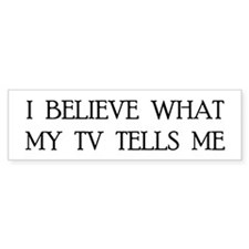TV 2.0 Bumper Bumper Sticker