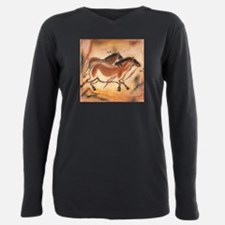 Funny Caving Plus Size Long Sleeve Tee