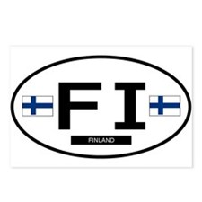 Finland 2F Postcards (Package of 8)