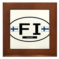 Finland 2F Framed Tile