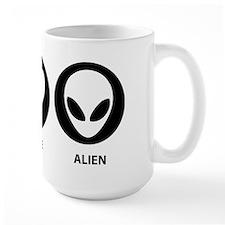Peace Love Alien Mug
