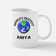 World's Okayest Amya Mugs