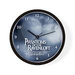 Phantoms Wall Clock