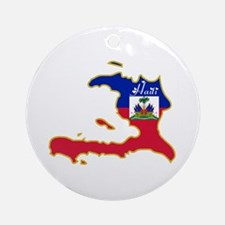 Cool Haiti Ornament (Round)