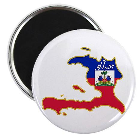 "Cool Haiti 2.25"" Magnet (100 pack)"