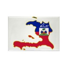 Cool Haiti Rectangle Magnet