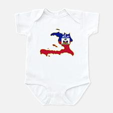 Cool Haiti Infant Bodysuit