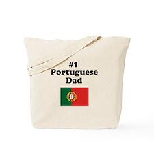 #1 Portuguese Dad Tote Bag