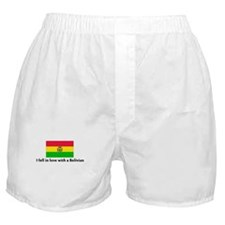 I fell in love with a Bolivia Boxer Shorts