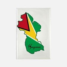 Cool Guyana Rectangle Magnet