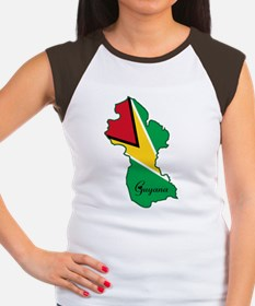 Cool Guyana Women's Cap Sleeve T-Shirt